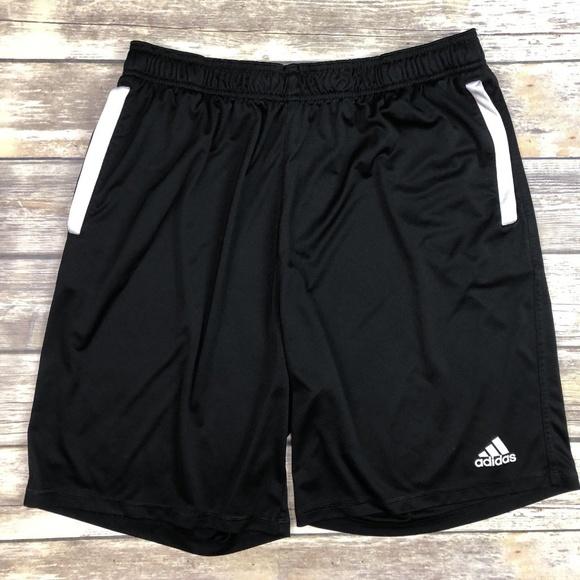 db053358edd120 adidas Other - Adidas 2XL XXL Mens Black Athletic Shorts